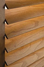 Close up of wooden Shutter